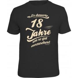 RAHMENLOS Original T-Shirt Es dauerte 18 Jahre ...