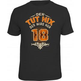 RAHMENLOS Original T-Shirt Der Tut nix der wird nur 18