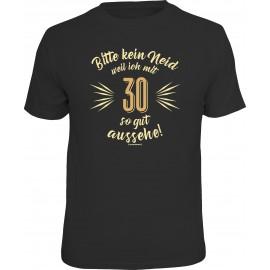 RAHMENLOS Original T-Shirt Bitte kein Neid.... 30