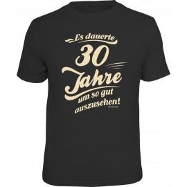 RAHMENLOS Original T-Shirt Es dauerte 30 Jahre