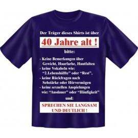 RAHMENLOS Original T-Shirt Der Träger dieses Shirts 40
