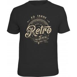 RAHMENLOS Original T-Shirt 40 Jahre Retro
