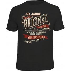 RAHMENLOS Original T-Shirt 40 Jahre Original