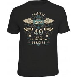 RAHMENLOS Original T-Shirt Seit 40 jahren zur Perfektion