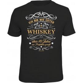 RAHMENLOS Original T-Shirt Ich bin wie guter Whiskey