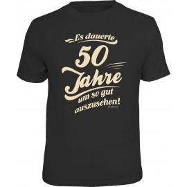 RAHMENLOS Original T-Shirt es dauerte 50 Jahre