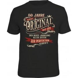RAHMENLOS Original T-Shirt 50 Jahre Original
