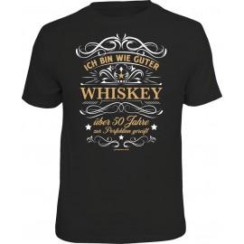 RAHMENLOS Original T-Shirt guter Whiskey 50