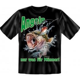 RAHMENLOS Original T-Shirt Angeln, nur was für Männer