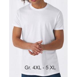 B&C Unisex Basic T-Shirt #E150 in Übergröße