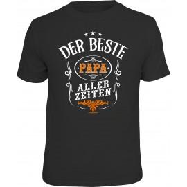 RAHMENLOS Original T-Shirt Der beste Papa aller Zeiten