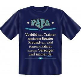 RAHMENLOS Original T-Shirt PAPA - Vorbild, Trainer etc.