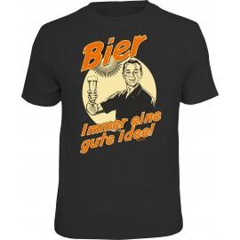 RAHMENLOS Original T-Shirt Bier -  Immer eine gute Idee