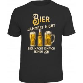 RAHMENLOS Original T-Shirt Bier jammert nicht