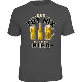 RAHMENLOS Original T-Shirt der tut nix, der will nur Bier