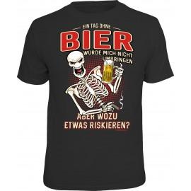 RAHMENLOS Original T-Shirt Ein Tag ohne Bier...