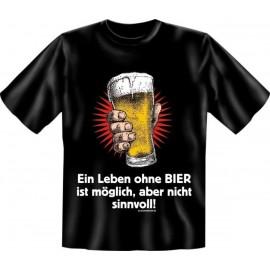 RAHMENLOS Original T-Shirt ein Leben ohne Bier
