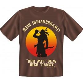 RAHMENLOS Original T-Shirt der mit dem Bier tanzt