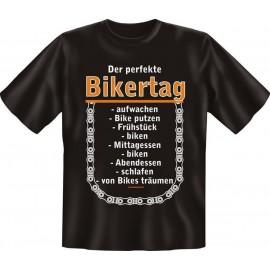 RAHMENLOS Original T-Shirt Biker Der Perfekte Bikertag ...
