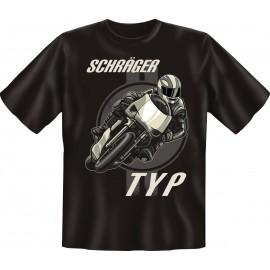 RAHMENLOS Original T-Shirt Biker Schräger Typ