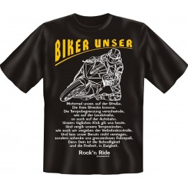 RAHMENLOS Original T-Shirt Biker Biker unser ....