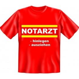 RAHMENLOS Original T-Shirt Notarzt