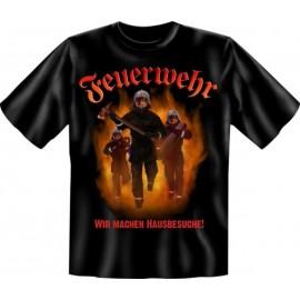 RAHMENLOS Original T-Shirt Wir machen Hausbesuche