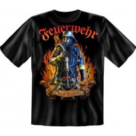 RAHMENLOS Original T-Shirt Feuerwehr Real Heroes