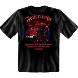 RAHMENLOS Original T-Shirt Wenn der Job einfach wäre...