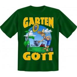RAHMENLOS Original T-Shirt Garten Gott