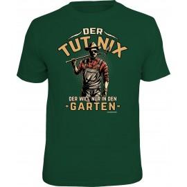 RAHMENLOS Original T-Shirt der tut nix, der will nur in den Garten