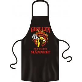 RAHMENLOS Original Latzschürze (One Size) Grillen nur was für Männer