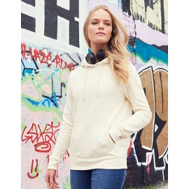 Just Hoods Frauen College Kapuzen-Sweatshirt