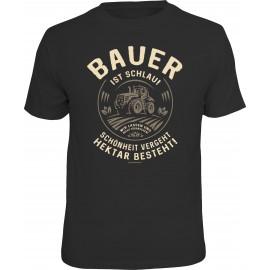 RAHMENLOS Original T-Shirt Bauer ist schlau