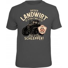RAHMENLOS Original T-Shirt Dieser Landwirt ist über 50