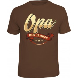 RAHMENLOS Original T-Shirt Opa des Jahres