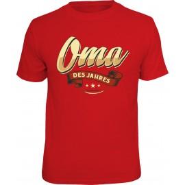 RAHMENLOS Original T-Shirt Oma des Jahres