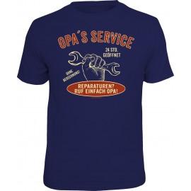 RAHMENLOS Original T-Shirt Opa´s Service