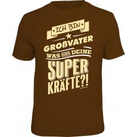 RAHMENLOS Original T-Shirt Großvater Superkräfte