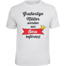 RAHMENLOS Original T-Shirt zur Oma befördert