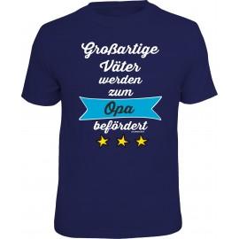 RAHMENLOS Original T-Shirt zum Opa befördert