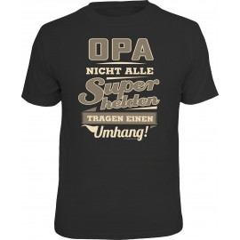 RAHMENLOS Original T-Shirt Opa Superheld