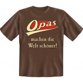RAHMENLOS Original T-Shirt Opas machen die Welt schöner