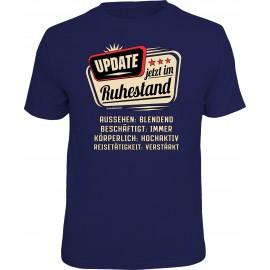 RAHMENLOS Original T-Shirt Premium im Update Ruhestand