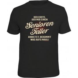RAHMENLOS Original T-Shirt Premium Seniorenteller