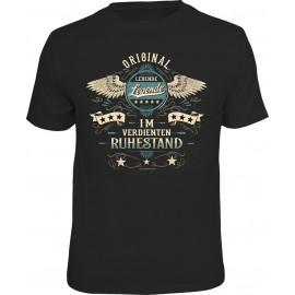 RAHMENLOS Original T-Shirt Premium Original im verdienten Ruhestand