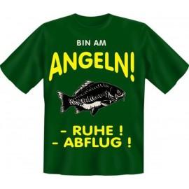 RAHMENLOS Original T-Shirt bin am Angeln