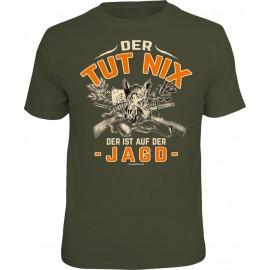RAHMENLOS Original T-Shirt der tut nix, der ist auf der Jagd