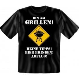 RAHMENLOS Original T-Shirt bin am Grillen