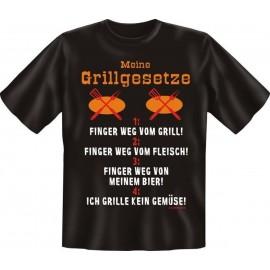 RAHMENLOS Original T-Shirt meine Grillgesetze